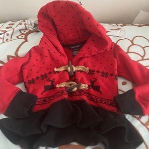 Ralph Lauren Reindeer Hooded Jacket 3/3T